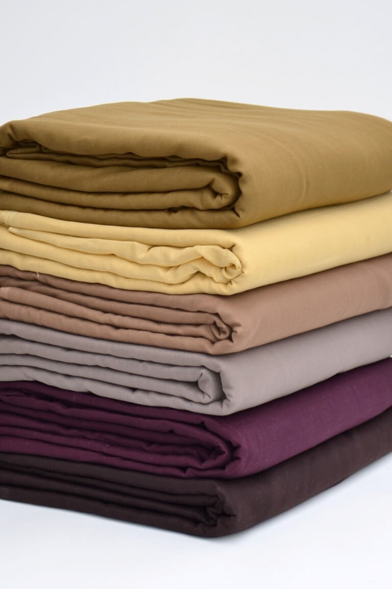 Brown & misc voile